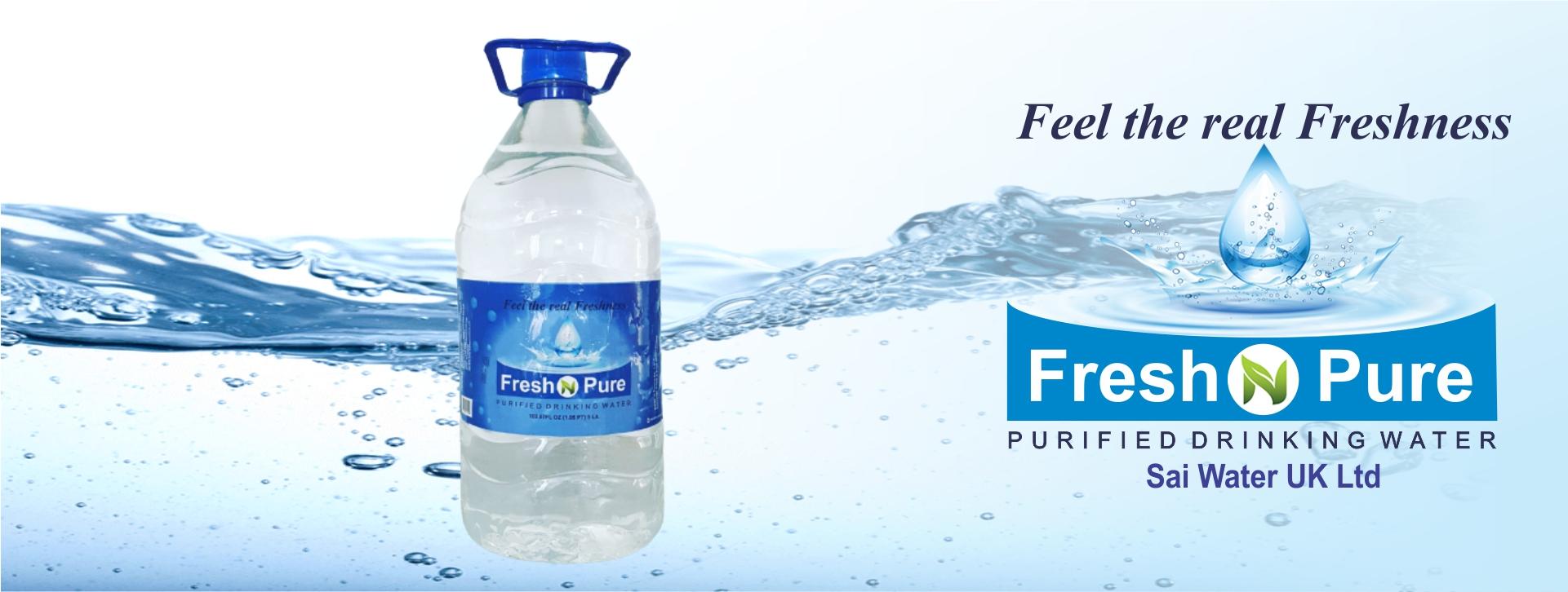 5 Litre Bottle Freshnpure Water UK